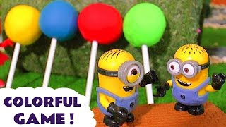 E xplore Colors with  Minions Candy Johny Johny Yes Papa Nursery Rhymes PJ Masks Thomas Toys TT4U