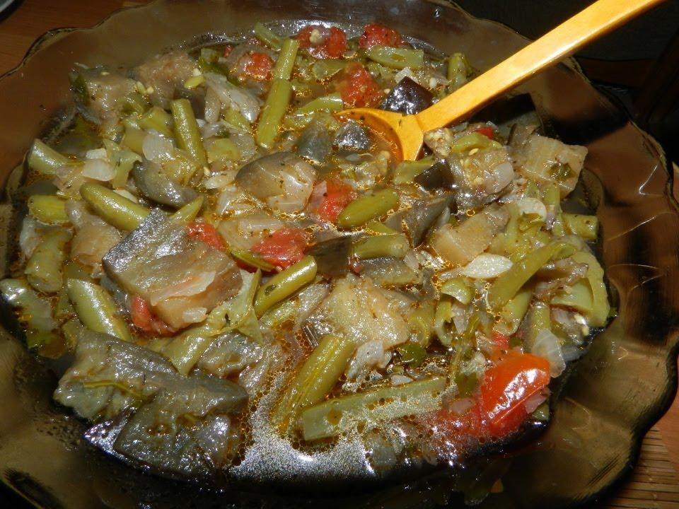Аджапсандал с мясом в мультиварке рецепт