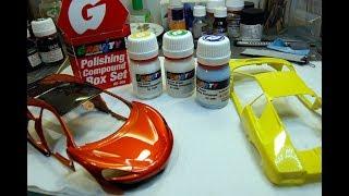 GRAVITY COLORS : Box set Polishing COMPOUND