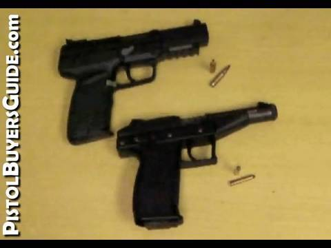 FN Five seveN Pistol vs Grendel P30 Video