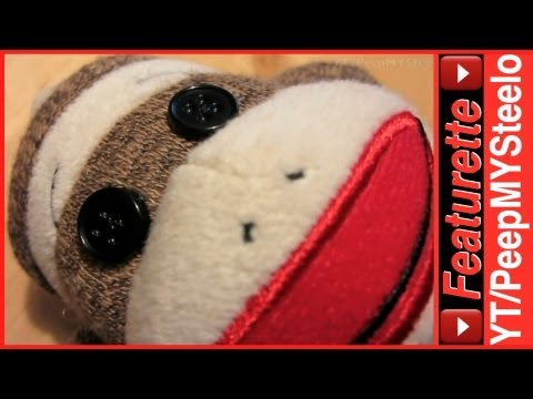 Original Sock Monkey Fabric Stuffed Animal Plush Doll For Kids Birthday Party Supplies or Gifts