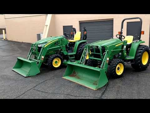 John Deere 3032e vs 3033r Tractor Comparison
