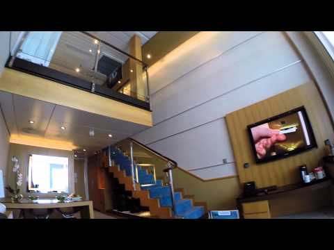 Crown Loft Suite Tour - Oasis of the Seas. Royal Caribbean