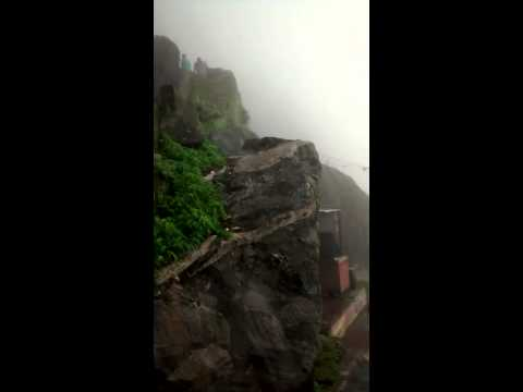 Romantic atmosphere during monsoon on Girnar mount