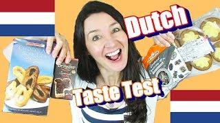 Dutch Taste Test De Ruijter Sprinkles Broodje Hagelslag  & Spekulatius Cakes