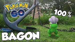 APARECEU UM BAGON 100%! BRILHOU? - Pokémon Go | Capturando Shiny (Parte 56)