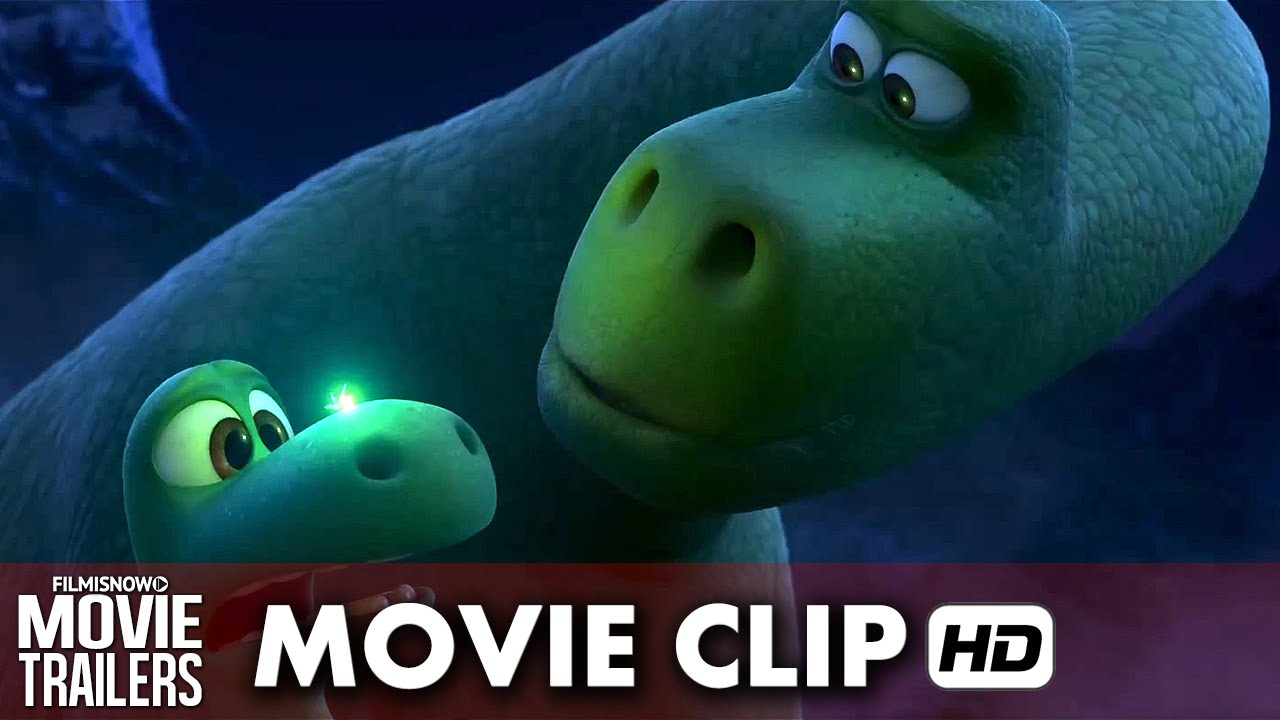 "The Good Dinosaur Movie Clip ""Get Through Your Fear"" (2015) HD"