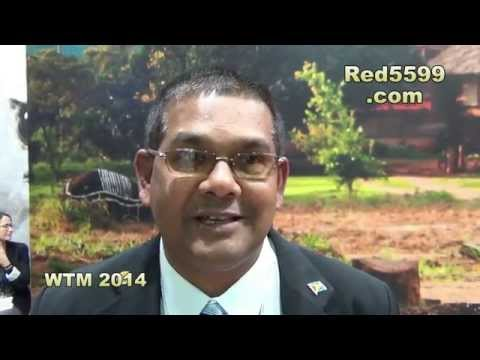 Guyana at World Travel Market Uk  2014