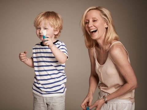 Anne Heche & Her Son Atlas Introduce Tickle Time!