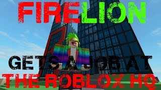 Fire Video Contest FireLion Gets A Job At The ROBLOX HQ