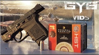 Is .380 acp Enough For Self Defense? Federal HST vs. Ribs