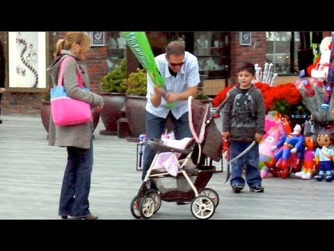 BATTING THE BABY PRANK