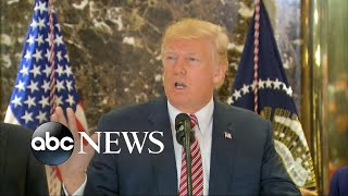 Donald Trump's news conference spirals out of control
