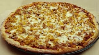 Ton Balıklı Pizza Tarifi | Pizza Sosu ve Hamuru