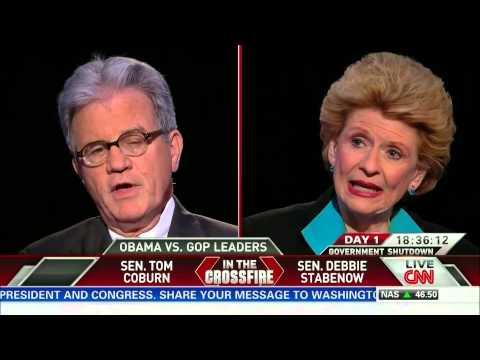 Crossfire: U.S. Senators Debbie Stabenow and Tom Coburn (part 1/3)