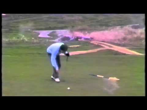 Vintage footage of one of the Golf Monthly staff...