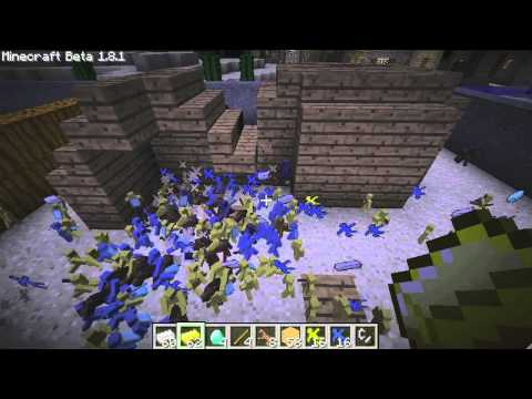 CLAY WAR ON MINECRAFT Clay Soldiers Mod