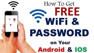 How To Use Free WiFi Everywhere and Get Password  on Your |  Android | iOS Device