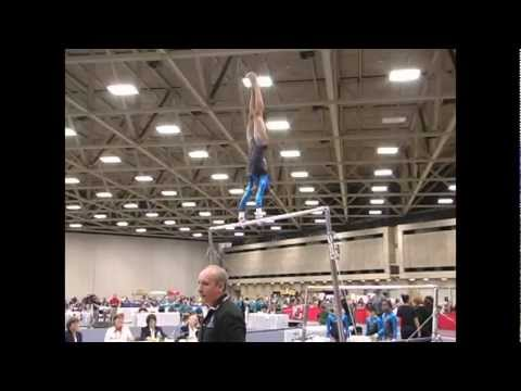 Robyn Bernard (Hill's) - 2010 JO Nationals - Bars