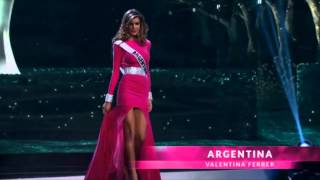 Valentina Ferrer Miss Universe Argentina 2015 Preliminary Competition