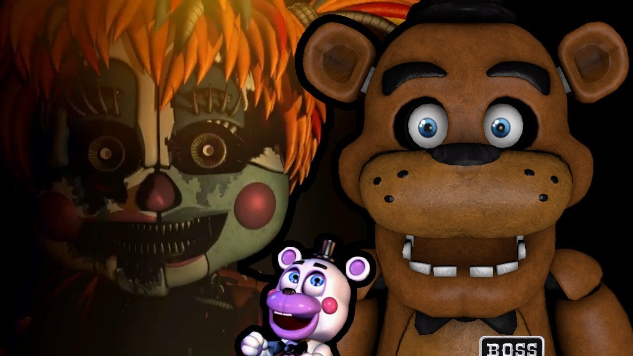 FREDDY PLAYS: Five Nights at Freddy's 6 (Monday) || BUILDING OUR VERY OWN PIZZERIA!!!
