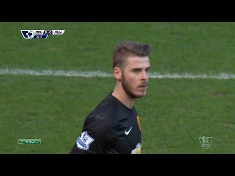 David De Gea Vs. Queens Park Rangers 14-15 [Away] [HD 720p]