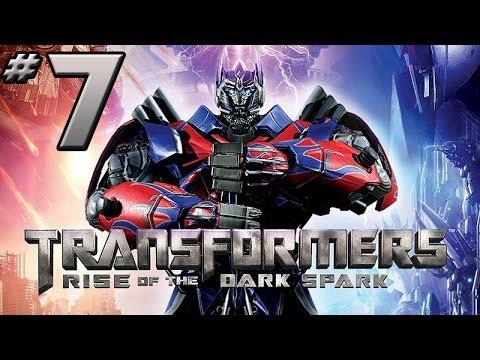 Transformers Rise of the Dark Spark Walkthrough - PART 7 - BRUTICUS ONLINE!!!