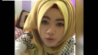 Whoaa !! Hijab girl on cam, It is tempting, Bigo Live
