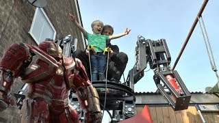 Making the Hulkbuster Part 2 - Body Arms and hips