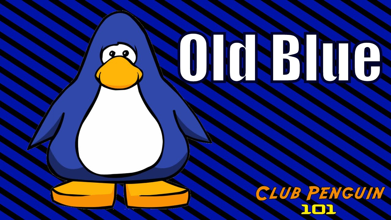 Club Penguin Dark Blue Penguin Old Blue Club Penguin 101