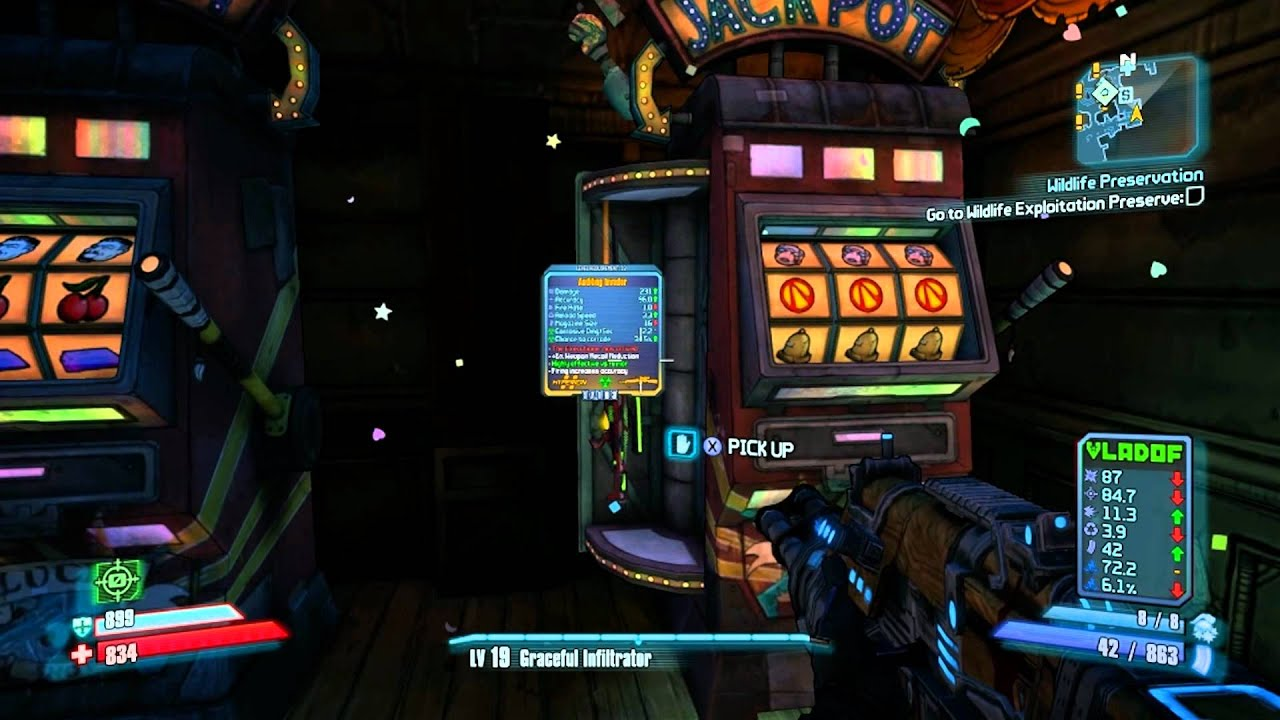How to get all vault symbols slot machine