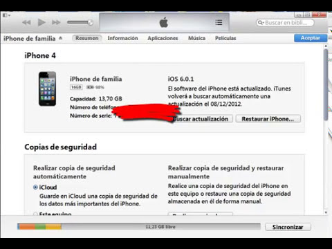 Descargar Musica o Videos del PC al iPHONE
