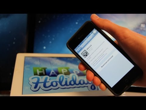 iOS Untethered, Jailbreak 6.0.1 News iOS 6 iPhone 5,4S, iPad 4, Mini 6.0.2 & Holidays