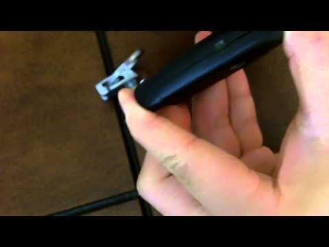 Замена батарейки в ключе Hyundai Genesis. Видео.