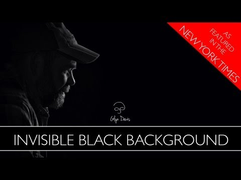 Photography Technique: The Invisible Black Background