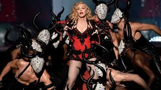 "Madonna Video - Madonna's 2015 Grammys Comeback Performance ""Living for Love""!"
