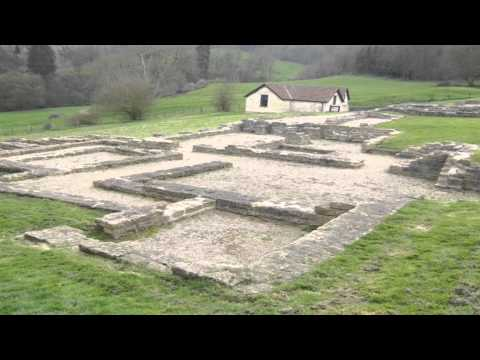 Great Witcombe Roman villa Painswick Gloucestershire