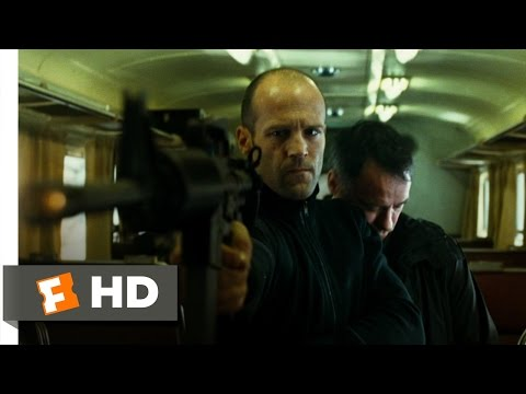 Transporter 3 (9/10) Movie CLIP - Catching the Train (2008) HD