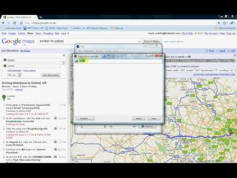 HowTo: GoogleMaps to Garmin Nuvi Routing (Screen Capture Video)