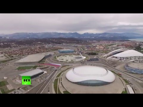 Sochi two years after Winter Olympics (drone footage)