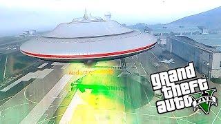 GTA 5 Моды: Настоящее НЛО! - Играем за пришельца