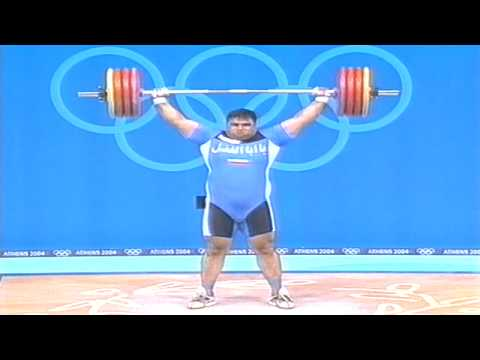 2004 OLYMPIC GAMES HOSSEIN REZAZADEH THE STRONGEST MAN IN THE WORLD (OLYMPIC SNATCH) Image 1
