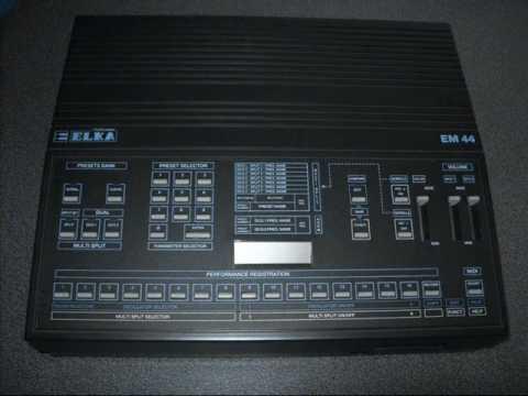 Hilltree - ELKA EM - 44 synthesizer