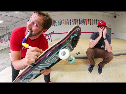 I RUINED MY FRIEND'S GRIPTAPE?! / Warehouse Wednesday