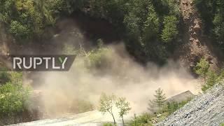 North Korea: Three explosions rock Punggye-ri nuclear test site