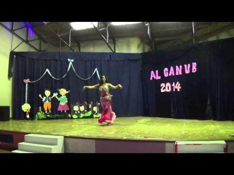 Danzas Arabes AL GANUB Rio Gallegos 2014  Prof  Yessica Suarez  Soraya