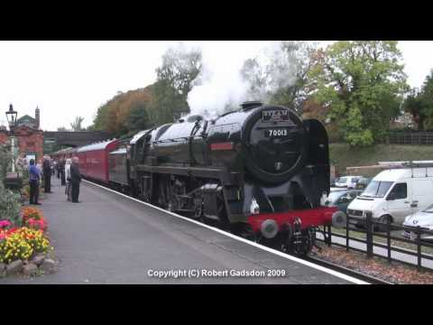 GCR Steam Gala 2009 - The Morning - Rothley to Leicester North