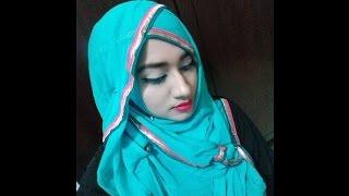 Hijab style using dupatta
