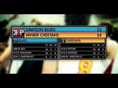 Cheetahs Vs. Blues [WOMENS CCAA] '11 | Natasha Raposo x Marilyse Roy x Fr&Atilde;&copy;d&Atilde;&copy;riquee Potvin