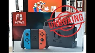 [Unboxing] Nintendo Switch néon - FR 🔵🔴